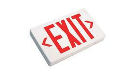 Image of a Illuminated EXIT Sign