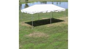 Image of a 10' x 20' Frame Tent (white top)