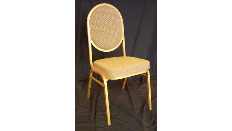 Image of a Gold Banquet Stacking Chair