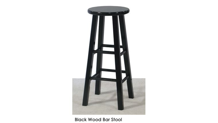 Image of a Mahogany Bar Stool