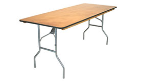 "Image of a 6'x30""  Banquet Table"
