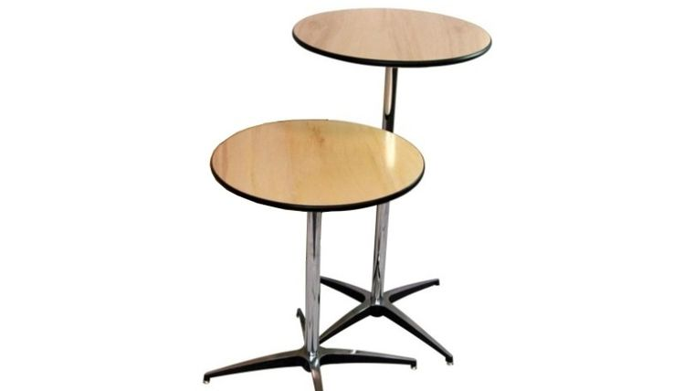 "Image of a 30"" x 42"" Round Tall Cocktail Table"