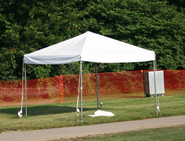 Picture of a 10u0027 x 10u0027 Frame Tent & 10u0027 x 10u0027 Frame Tent rentals online - $200/day
