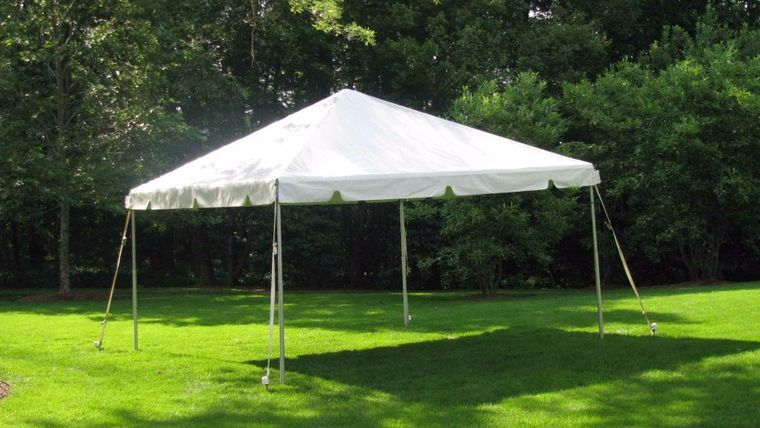 Picture of a 15' x 15' Frame Tent