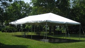 Image of a 20' x 40' Frame Tent