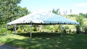 Image of a 30' x 30' Frame Tent