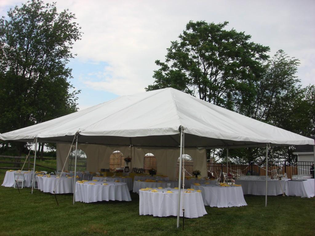 Picture of a 30u0027 x 40u0027 Frame Tent & 30u0027 x 40u0027 Frame Tent rentals online - $1000/day