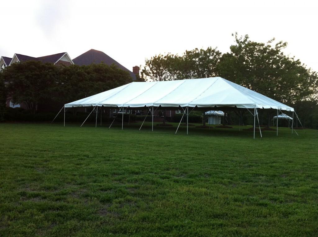 30\' x 60\' Frame Tent rentals online - $1,400/day
