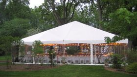 Image of a 40' x 40' Frame Tent