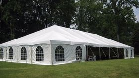 Image of a 40' x 80' Frame Tent