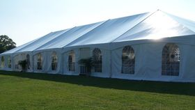Image of a 40' x 100' Frame Tent
