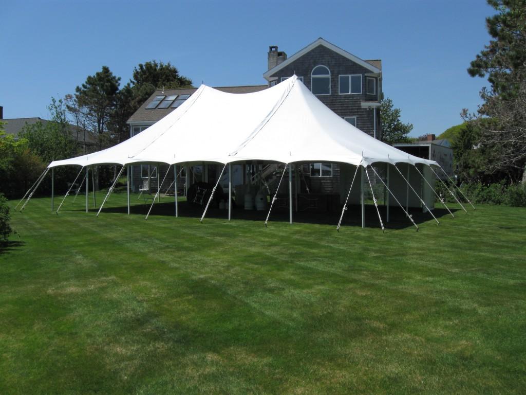 Picture of a 30u0027 x 45u0027 Pole Tent & 30u0027 x 45u0027 Pole Tent rentals online - $1100/day