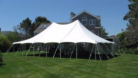 Image of a 30' x 45' Pole Tent
