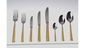 Gold Acropolis Dinner Knife image