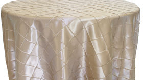 """Image of a Pintuck - Ivory Tablecloths (60"""" x 120"""")"""