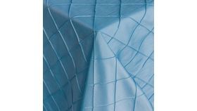 """Image of a Pintuck - Wedgewood Blue Tablecloths (60"""" x 120"""")"""