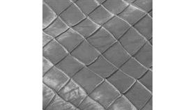 """Image of a Pintuck - Pewter Tablecloths (90"""" Square)"""