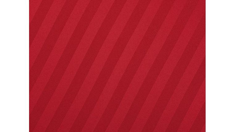 """Image of a Imperial Stripe - Red Tablecloths (132"""" Round)"""