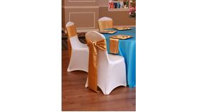 "Image of a Satin - Turquoise Tablecloths (90"" Round)"