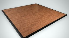 Image of a Cedar SnapLock Dance Floor 3' x 3'