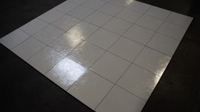 Image of a Slate White Dance Floor 3' x 3'