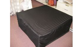 Image of a 4' x 4' Padded Ottoman