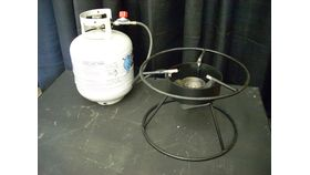 Image of a Outdoor Propane Stove