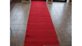 Image of a 50' Red Carpet