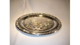"""Image of a 15"""" Silver Tray"""