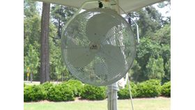 Image of a Tent Pole Fan