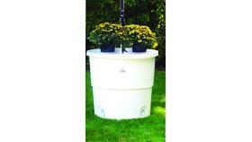 Image of a 350 lb Water Barrel
