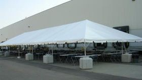 Image of a 30'x110' Frame Tent