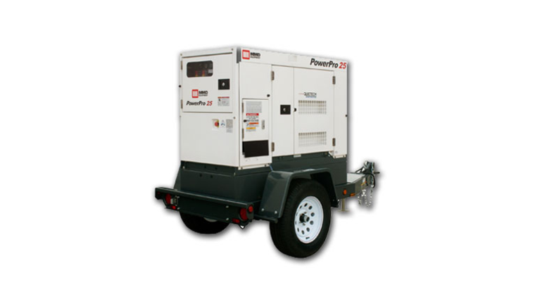 Picture of a 25 kW Two-Behind Generator (Gas and Delivery Included)