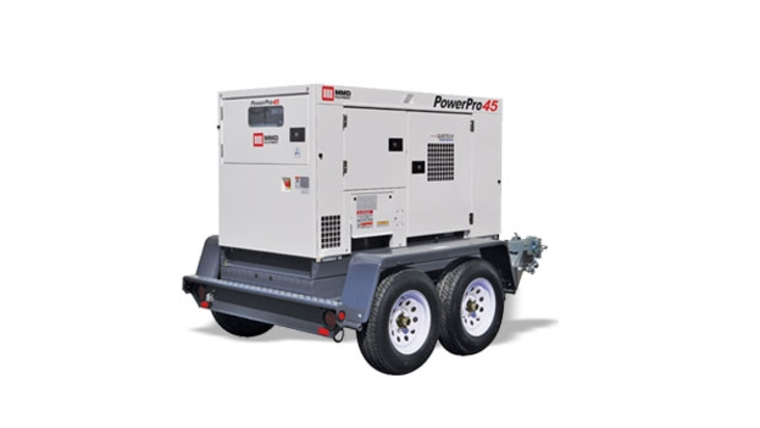 Picture of a 45 kW Tow-Behind Generator (Gas and Delivery included)