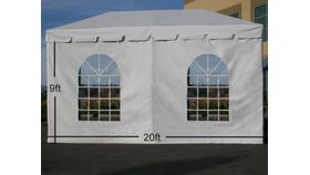 Image of a 9' x 20' Cathedral Sidewall
