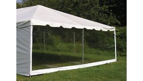 Image of a 8' x 20' Clear Sidewall