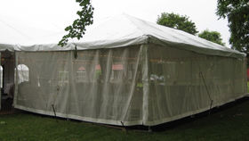 Image of a 8' x 10' Mesh Sidewall