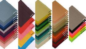 "Image of a Spun Polyester - Black Napkins (20"" x 20"")"