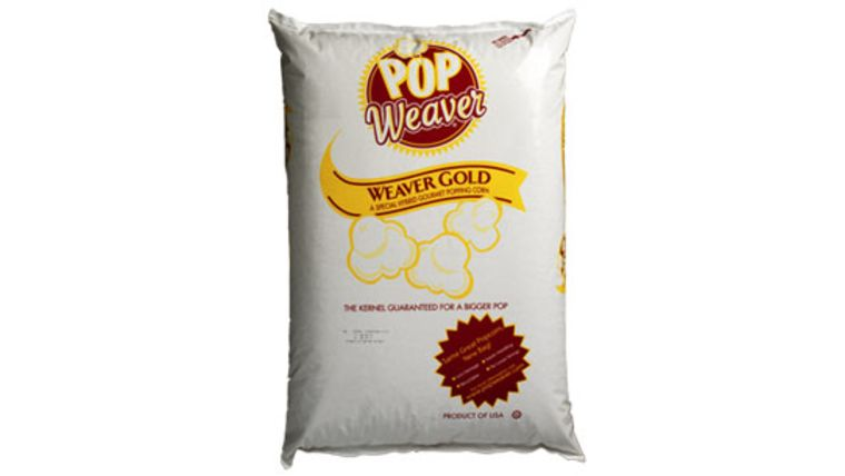 Picture of a Bag of Popcorn for Popcorn Machine - 12.5 lb bag