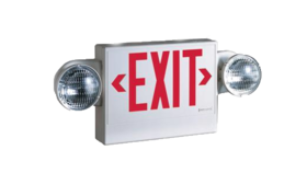 Image of a Illuminated Exit Sign for Tent