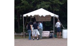 Image of a 10' x 10' Frame-Type Tent