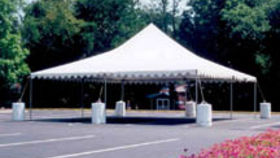Image of a 30' x 30' Frame-Type Tent