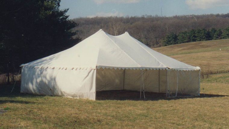 Picture of a 30' x 40' Frame-Type Tent
