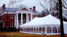 Image of a 30' x 60' Frame-Type Tent