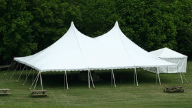 Image of a 40' x 60' High Peak Push Pole-Type Tent