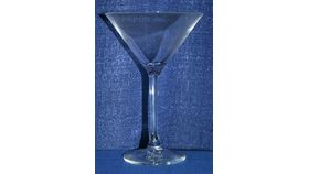 Image of a Classic Martini, Lead Crystal
