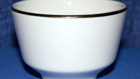 Image of a Bouillon Cup - cream/gold