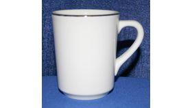 Image of a Coffee Mug - cream/gold