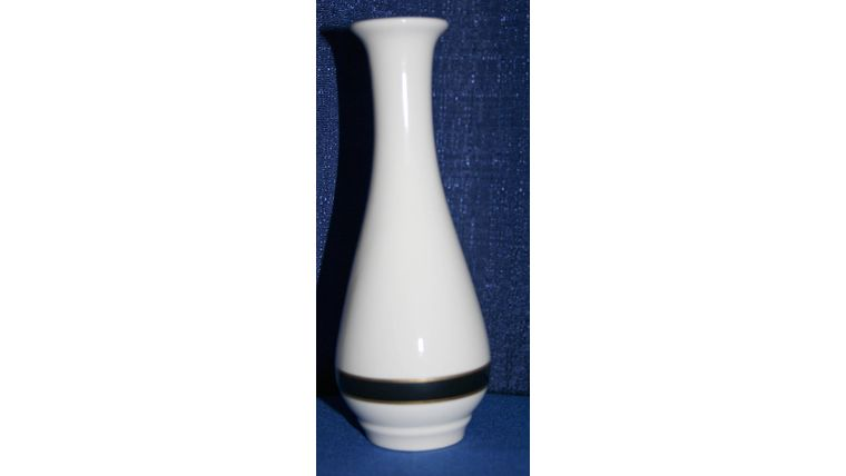 Picture of a Bud Vase - white/black