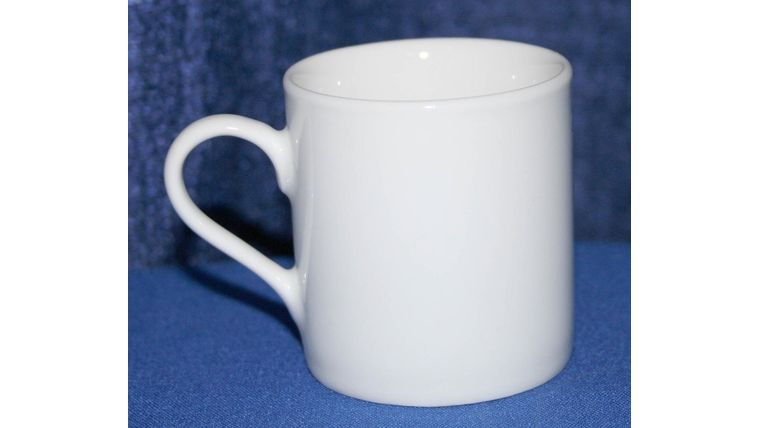 Picture of a Demitasse Cup, pure white